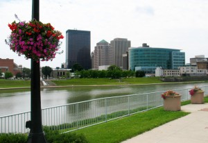 Dayton-Skyline-with-Flowers-June-091