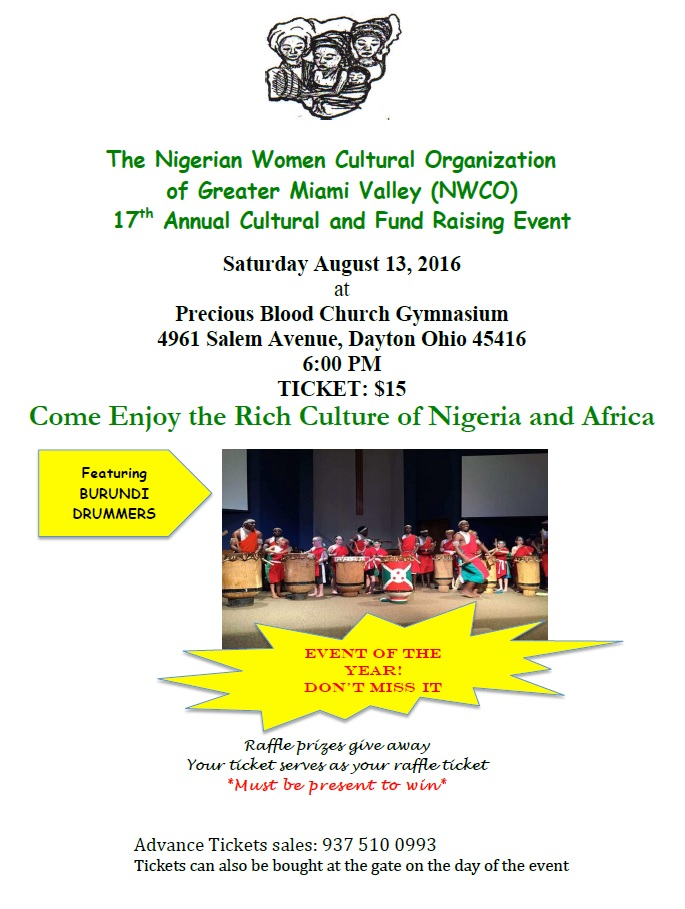 NWCO 17th Annual Fundraising Event @ Precious Blood Church Gymnasium | Dayton | Ohio | United States