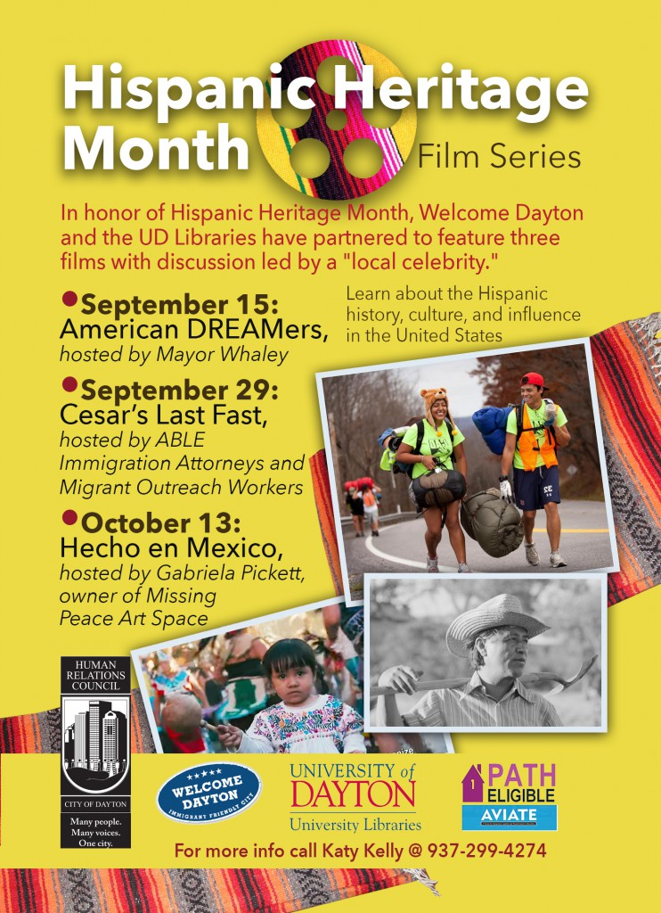 Cesar's Last Fast - Film Screening @ Roesch Library Collab | Dayton | Ohio | United States