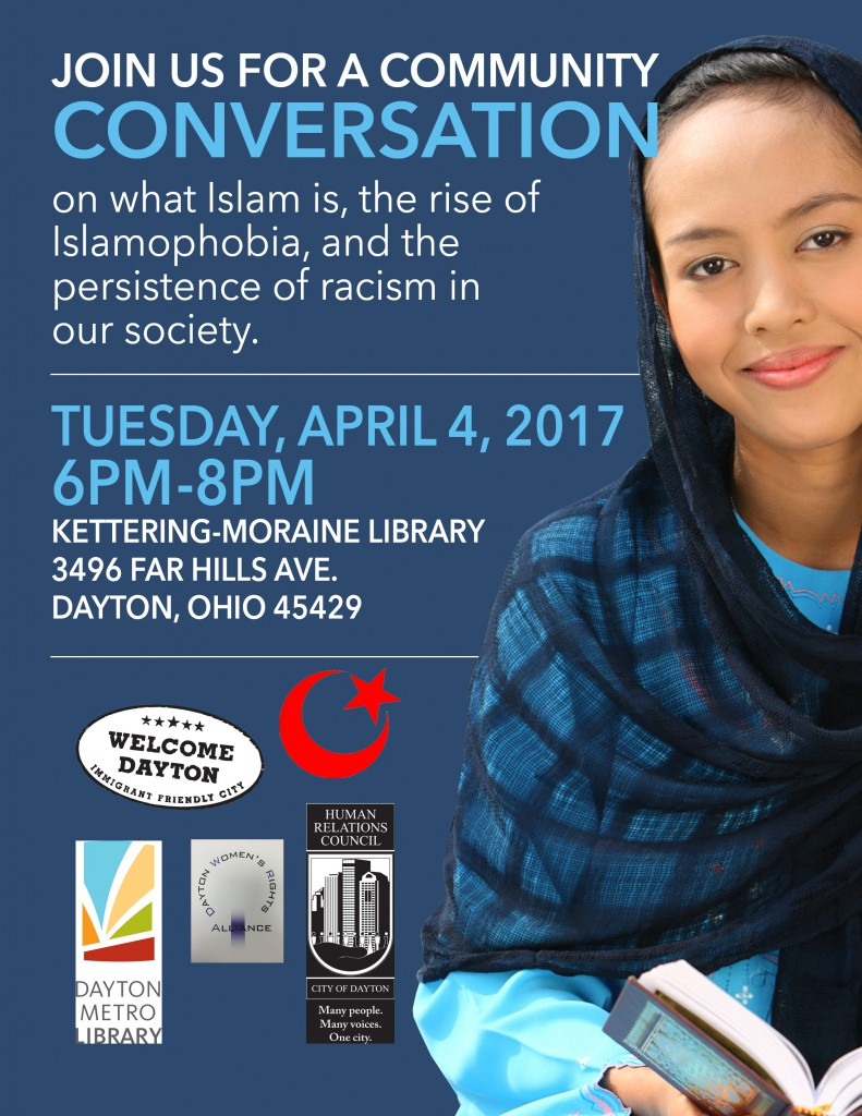 Community Conversation: Islam and Islamophobia @ Kettering-Moraine Library | Dayton | Ohio | United States