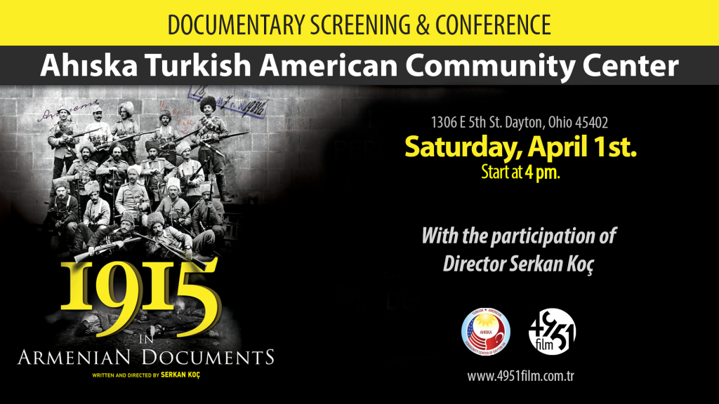 Documentary Screening and Conference @ Ahiska Turkish American Community Center | Dayton | Ohio | United States