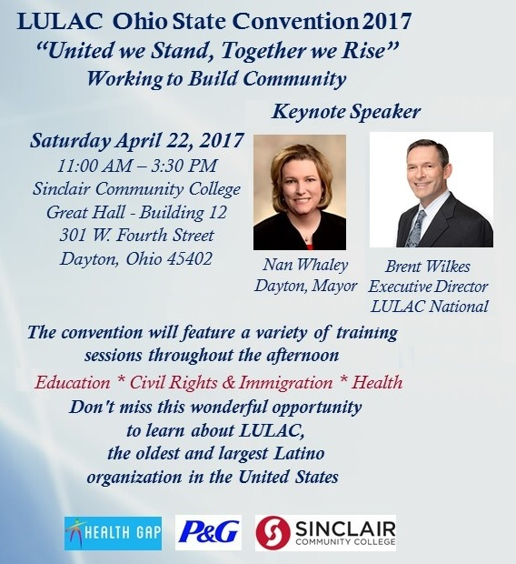 LULAC Ohio Convention Flyer 2017