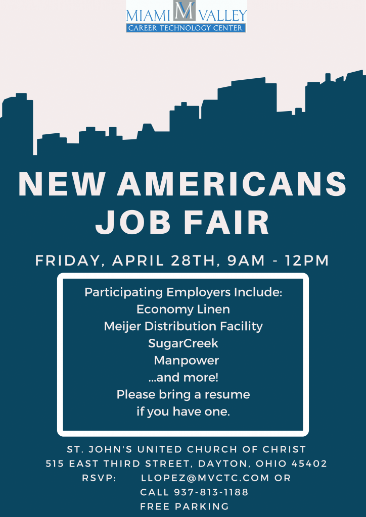 New Americans Job Fair Flyer