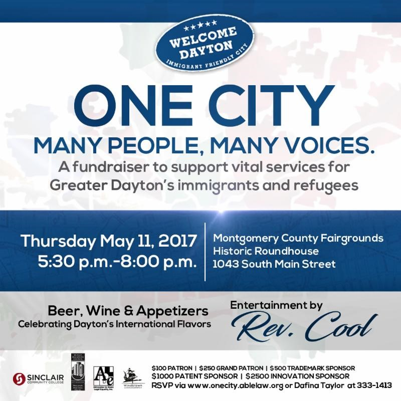Fundraiser: One City, Many People, Many Voices @ Montgomery County Fairgrounds Historic Roundhouse | Dayton | Ohio | United States