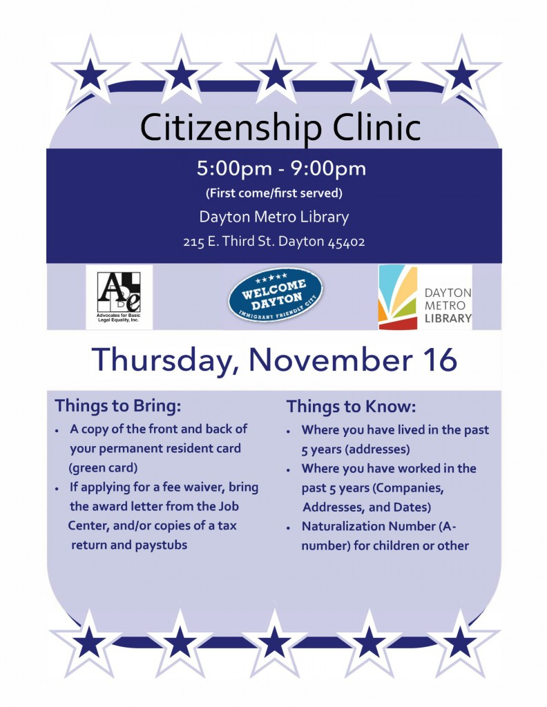 Citizen Clinic Nov 2017