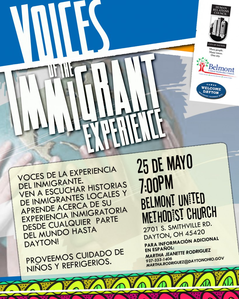 Voices of the Immigrant Experience 5-25 SP