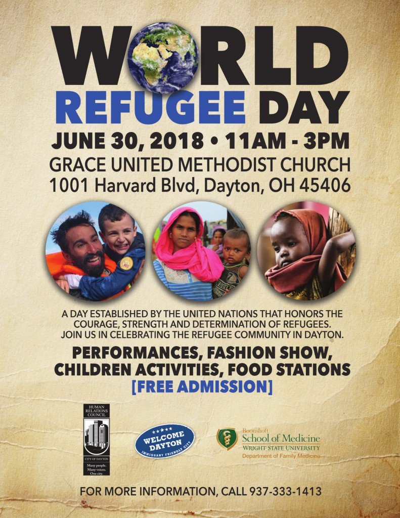 World Refugee Day Celebration @ Grace United Methodist Church | Dayton | Ohio | United States
