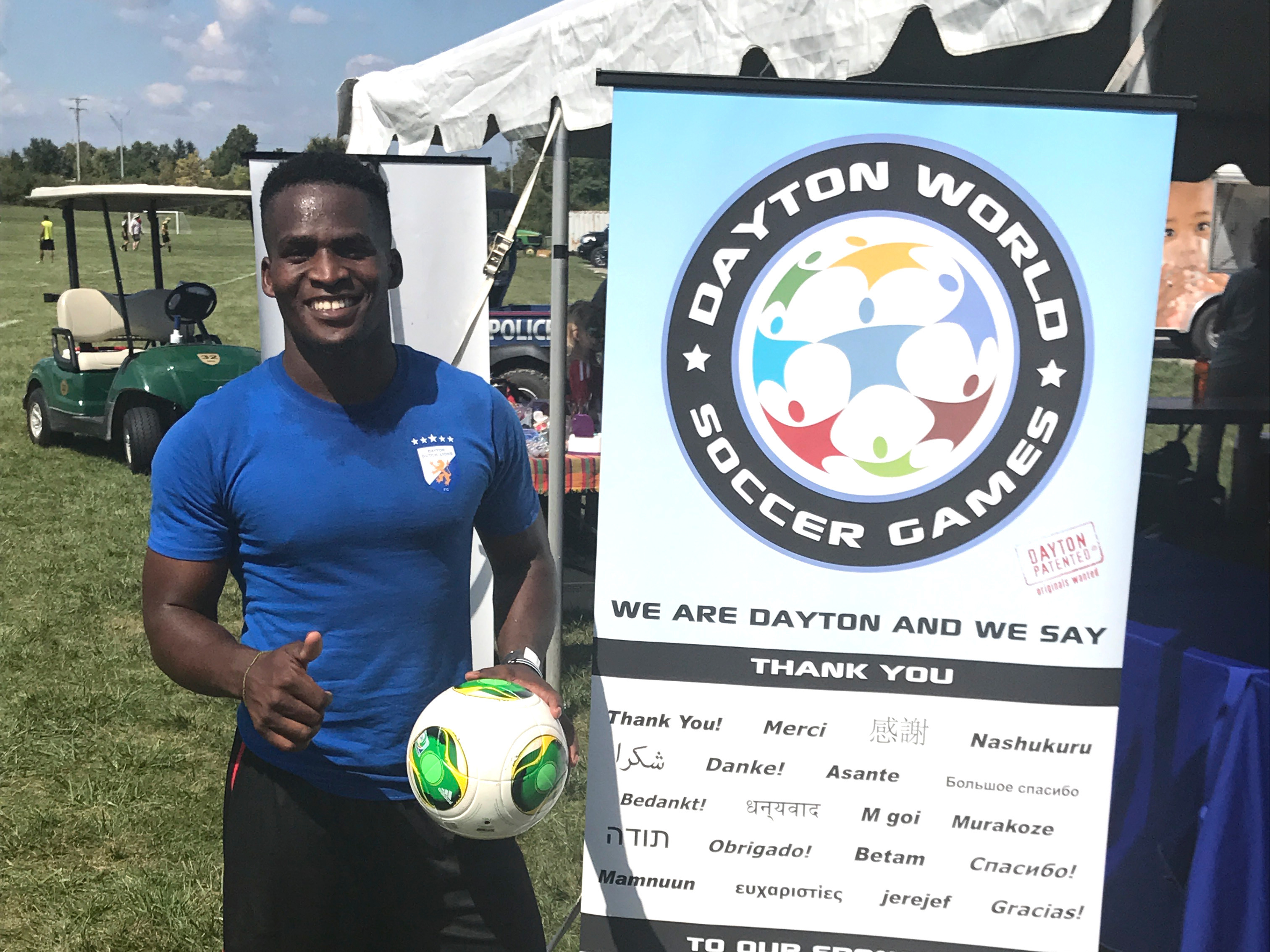 Player at Event by DWSG Sign