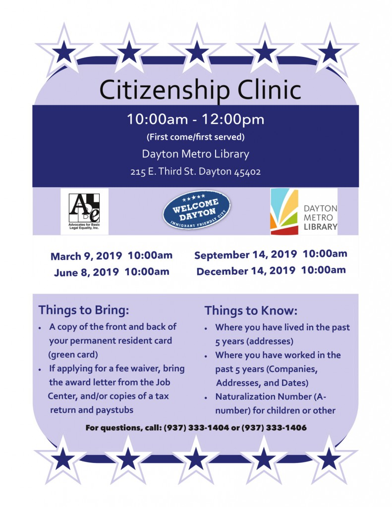 2019 Citizenship Clinic flyer-1