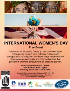2020 International Women's Day @ Grace United Methodist Church | Dayton | Ohio | United States