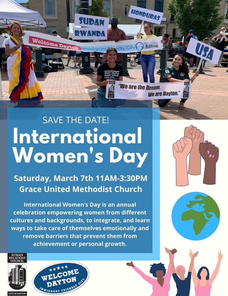 International Women's Day Save the Date
